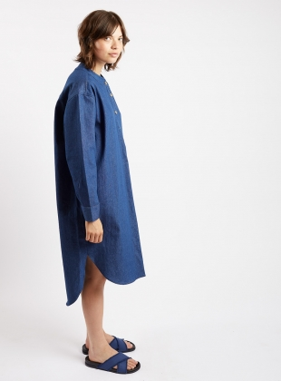 Young British Designers: SLUMBER SHIRT Dress. Denim. by Kate Sheridan