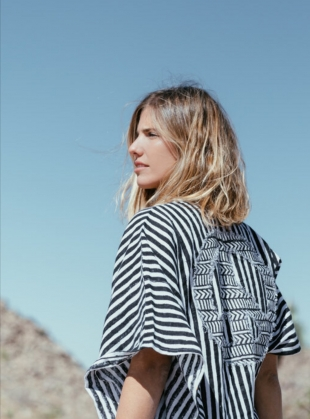 Young British Designers: LET THERE BE PEACE Kaftan - Back in Stock by A Perfect Nomad