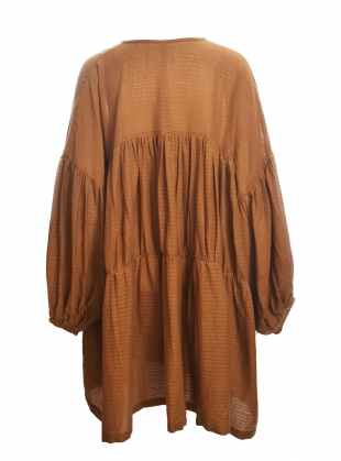 Young British Designers: SYMI OCHRE EARTH DRESS - Back in Stock by A Perfect Nomad
