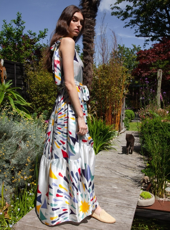 Young British Designers: Martha Dress in Cake by Tallulah & Hope