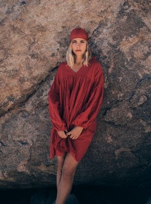 SYMI WILD HEART RED DRESS by A Perfect Nomad