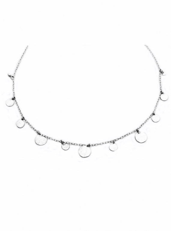 Young British Designers: Pascale Sequin Choker. Silver by India Mahon