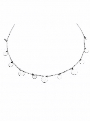 Pascale Sequin Choker. Silver by India Mahon