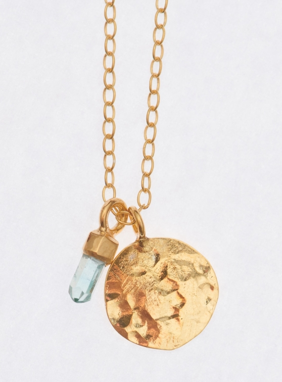 Young British Designers: Sonni Necklace. Gold Vermeil - Sold Out! by India Mahon