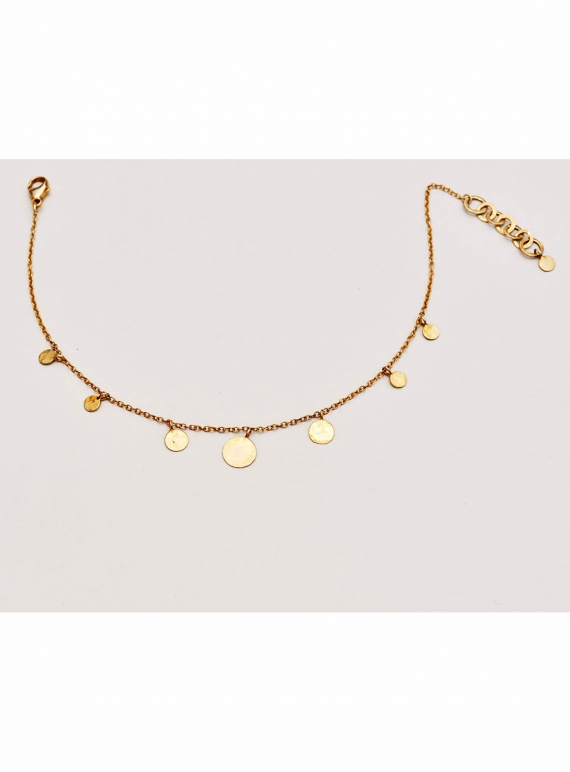 Young British Designers: Pascale Sequin Choker. Gold Vermeil by India Mahon