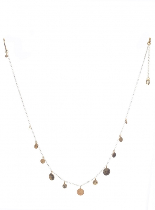 Young British Designers: Pascale Sequin Choker. Gold Vermeil - Sold out by India Mahon