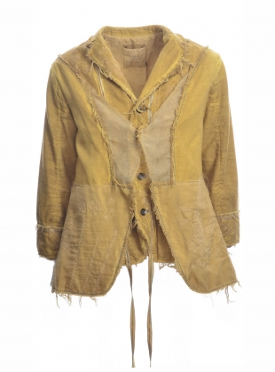 Young British Designers: Old Ochre Maida Jacket - Last one (M) by Renli Su