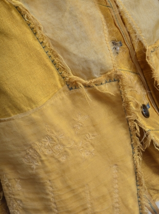 Young British Designers: Old Ochre Maida Jacket by Renli Su