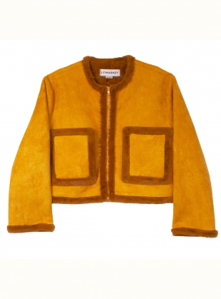 Young British Designers: QUENTIN COAT. Sunflower by LF Markey