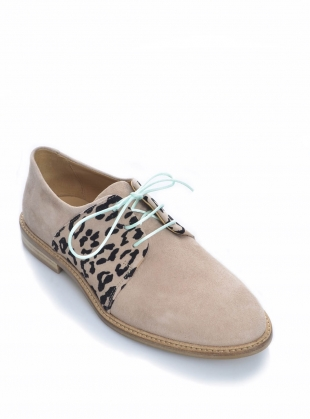 Young British Designers: BUTTERKISS Soft Tan Suede Brogue - Last pair (36) by Rogue Matilda