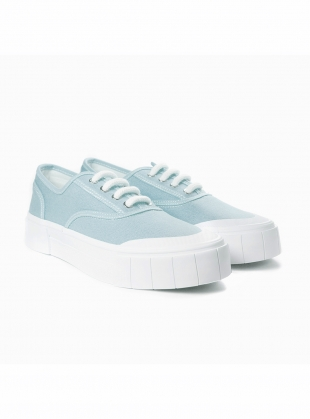 ACE. Baby Blue Low Top Trainer by Good News