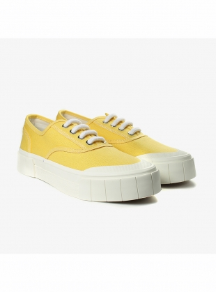 ACE. Sunshine Yellow Low Top Trainer by Good News