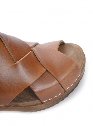 Young British Designers: CUMIN Leather Aventyr Clog - Last pair (36) by Kitty Clogs Sweden