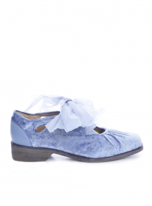 Young British Designers: Blue Romance Shoes by Renli Su