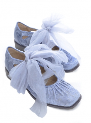Blue Romance Shoes by Renli Su