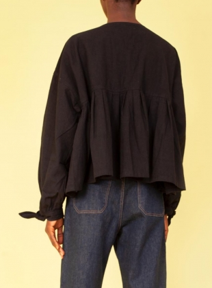 Young British Designers: KENNY SHIRT. Black by LF Markey