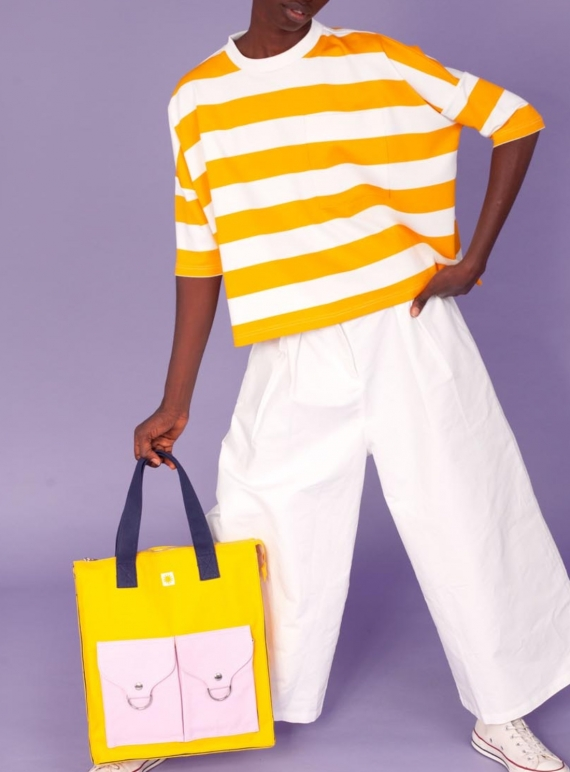 Young British Designers: WINSTON TEE. Yellow by LF Markey
