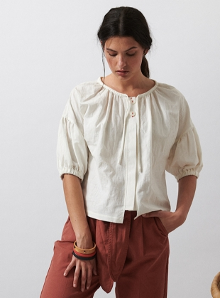 WHITE FERN SHIRT - Last one (XS) by SIDELINE