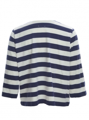 Young British Designers: BABI ORGANIC COTTON STRIPE TOP by Beaumont Organic