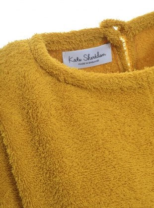 Young British Designers: EDIE TOP. Yellow Terry. by Kate Sheridan