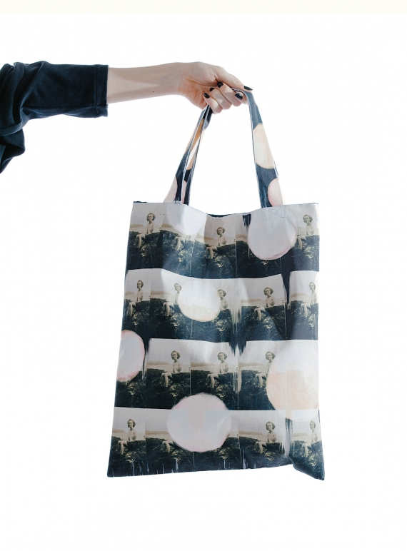 Young British Designers: Repeating You. COTTON DRILL TOTE  by IA London
