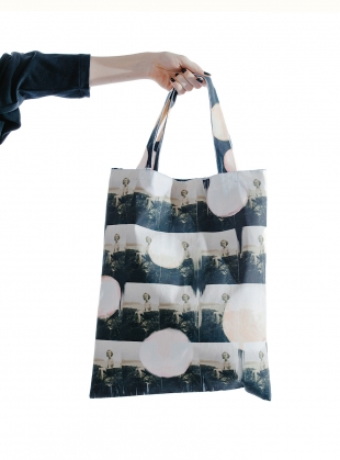 Repeating You. COTTON DRILL TOTE  by IA London