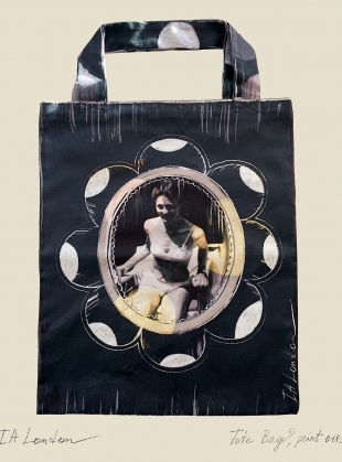 Young British Designers: She Was Loved. Cotton Drill Tote by IA London