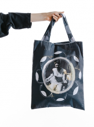 She Was Loved. Cotton Drill Tote by IA London