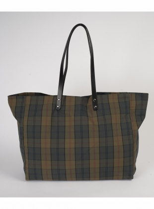 GIGA Tote. Iona Check by Kate Sheridan