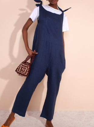 BRAXTON JUMPSUIT. Navy by LF Markey