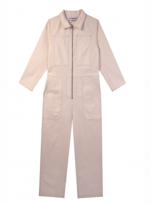 Young British Designers: DOMINIC BOILERSUIT. White by LF Markey