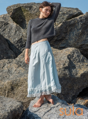 Young British Designers: MAGICAL SKIRT. Pearl Blue by SULA