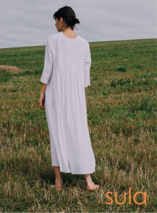 Young British Designers: POISON DRESS. White White by SULA