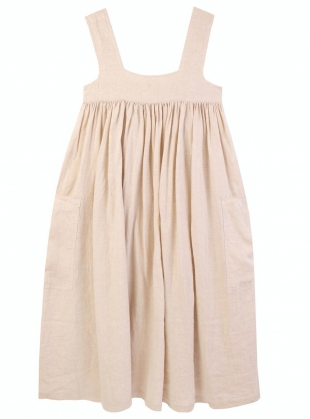Young British Designers: CAMERON DRESS. Oatmeal by LF Markey