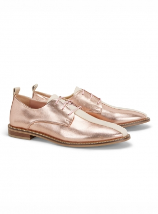 Young British Designers: STRIKE BROGUE. Rose Gold by Rogue Matilda