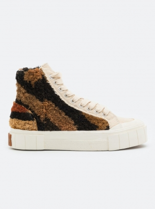PALM MOROCCAN HIGH TOPS. Oatmeal by Good News