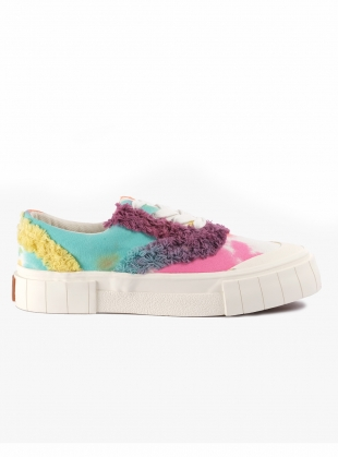 OPAL FRINGE LOW TOPS. Tie Dye by Good News